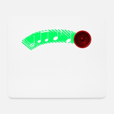 Speaker spits notes - Mouse Pad