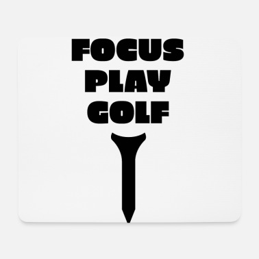 Golf Swing FOCUS PLAY GOLF - Mouse Pad
