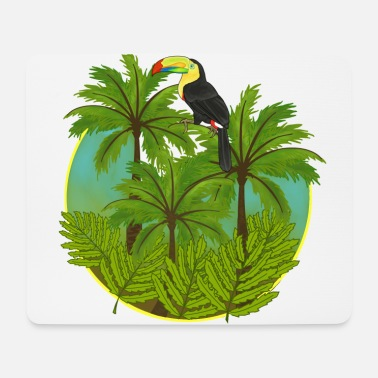 Jungle Jungle, toucan, jungle - Mouse Pad