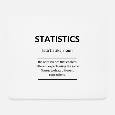 Sarcastic Statistics Definition Dictionary - Mouse Pad