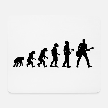 Band Evolutionstheorie Gitarrist - Mousepad (Querformat)