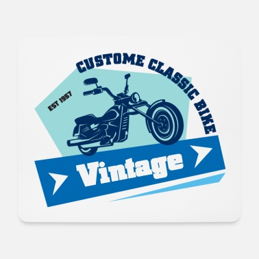 Motocycle Vintage Motocycle 81 F - Mouse Pad