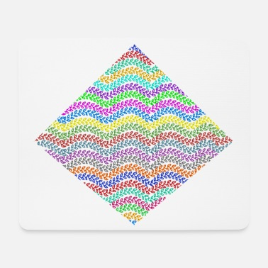 Rhombus Chains in a rhombus - Mouse Pad