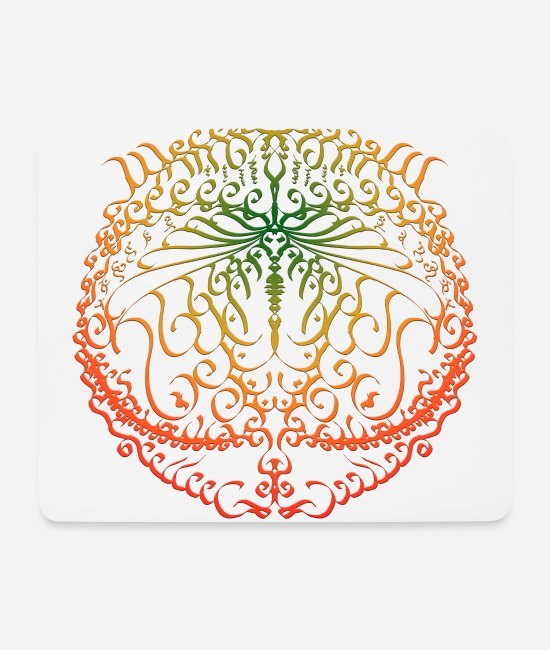 Artist Mouse Pads - Creative Circle - Mouse Pad white