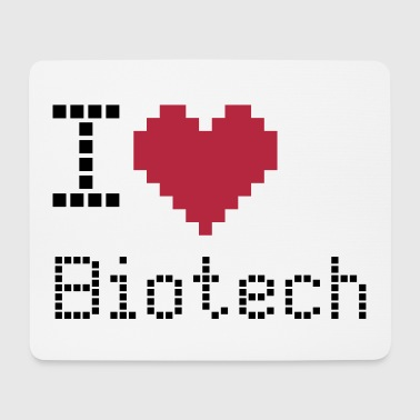 I love Biotech - Mousepad (Querformat)