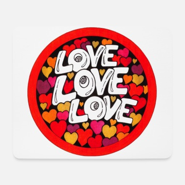 Love Love Love - Mousepad