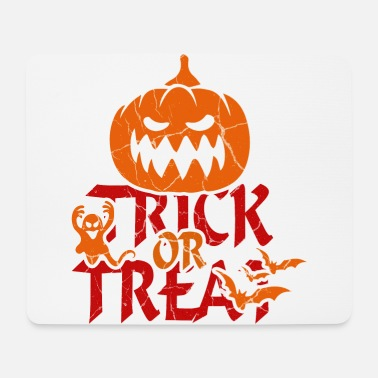 Trick Or Treat Trick or Treat at Halloween - trick or treat - Mouse Pad