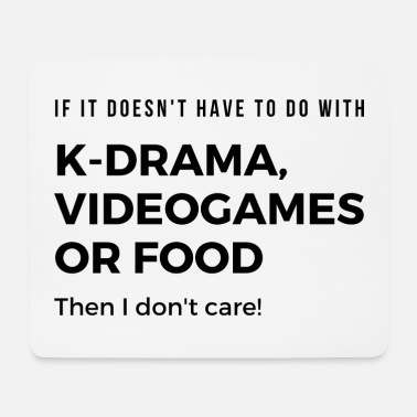 South Korea Kdrama, Videogames or Food! Korea Ramyun Seoul Fan - Mouse Pad