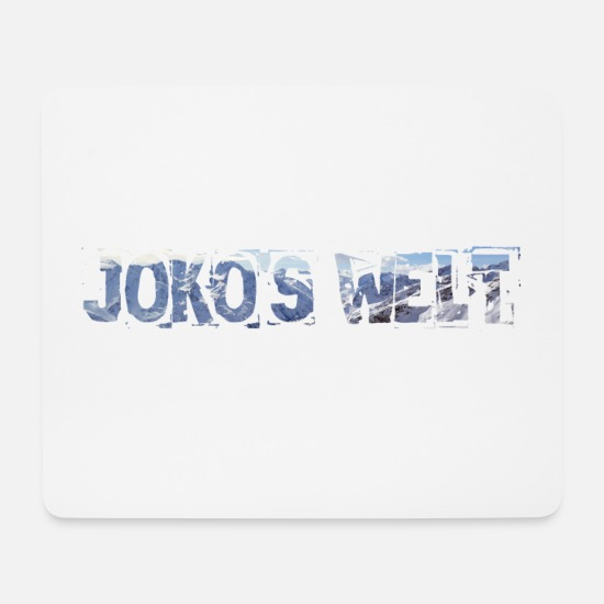 Blue Mouse Pads - JOKO'S WORLD - JOKO'S WORLD - Mouse Pad white