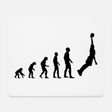 Development Of Mankind Basketball dunking - Mouse Pad