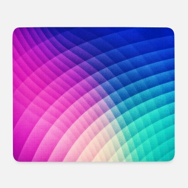 Abstract Colorful Art Pattern (Pride - Texture) - Mouse Pad (horizontal)