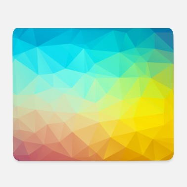 Low Poly Muster 02 - Mousepad (Querformat)