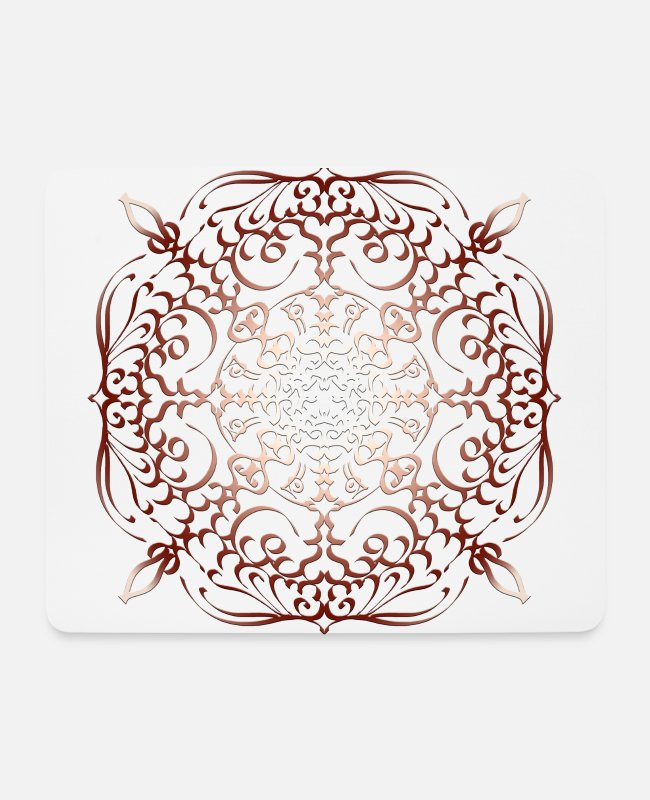 Artist Mouse Pads - Eagle flying - Mouse Pad white