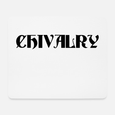 Orders Of Chivalry Black Chivalry - Mouse Pad