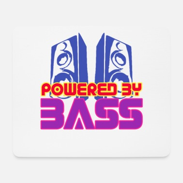 Audio Powered by Bass - Mouse Pad