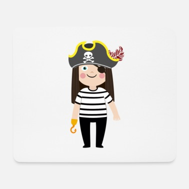 Pirates Pirate with pirate hat - Mouse Pad