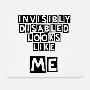 Disabled Invisibly Disabled - Mouse Pad