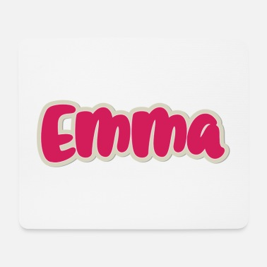 First Name Emma name first name - Mouse Pad