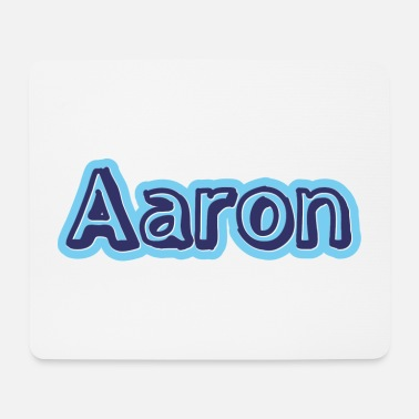 First Name Aaron name first name - Mouse Pad
