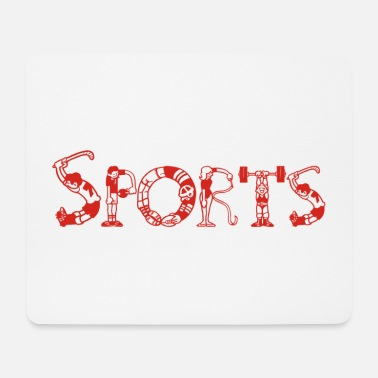 Sports Sports Sports Design - Mouse Pad