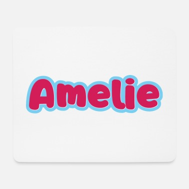 First Name Amelie name first name - Mouse Pad