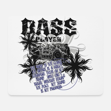 Bass Bassist - Mousepad