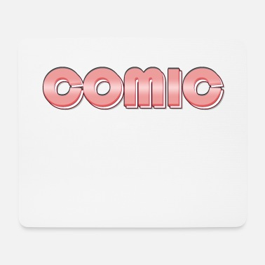 Comic comic - Mouse Pad
