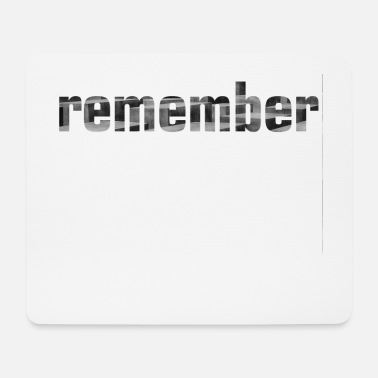 Remember remember - Mouse Pad