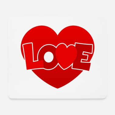 Love With Heart Love with heart - Mouse Pad