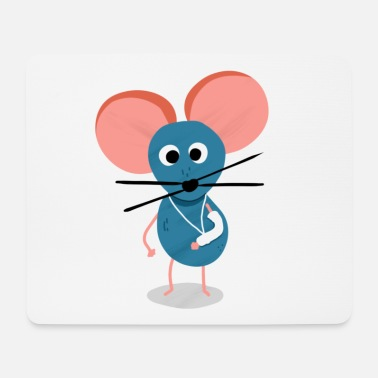 Mouse mouse - Tappetino per mouse (orizzontale)
