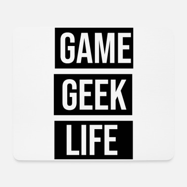 Pixel Game Geek Life - Mouse Pad