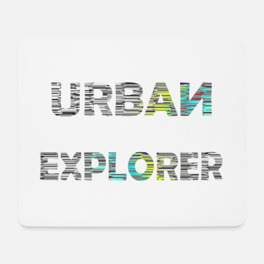 Photograph-jetzt-alle-mal URBAN EXPLORER Lost Places Hunter Geschenkidee - Mousepad