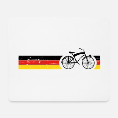 National Vélo National Colors National Germany Gift - Tapis de souris