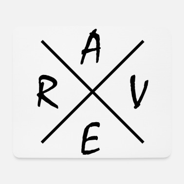 Rave Rave Music Gift - Mouse Pad