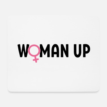 Feminist Woman up feminist rights gift - Mouse Pad