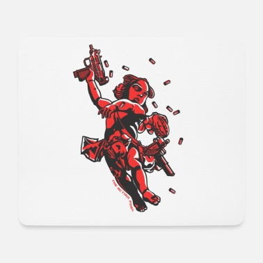 Cool Cupid's Arms - Mouse Pad