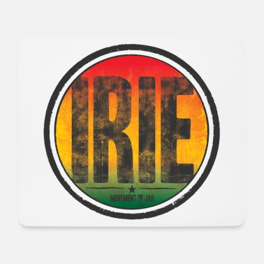 Movement irie - movement of jah - Mousepad