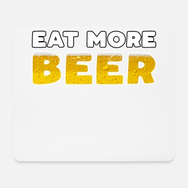 Thirst Quencher Hops smoothie eat more beer beer gift - Mouse Pad