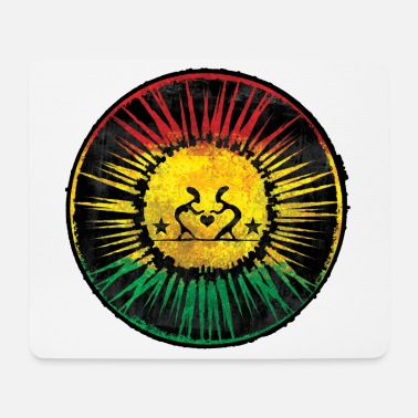 Ragga Raggae Love shine - Mouse Pad