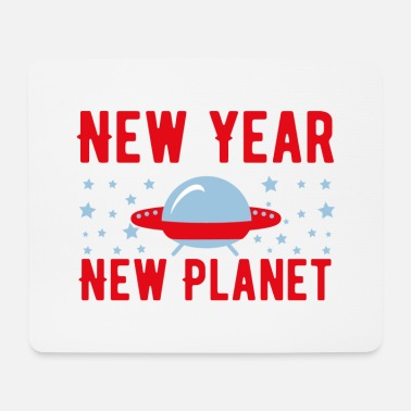New Rave New Year New Planet - Mouse Pad