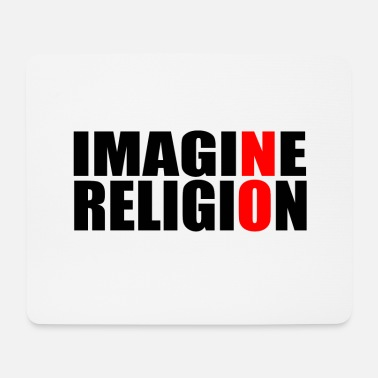 Religion RELIGION AN! - Mousepad