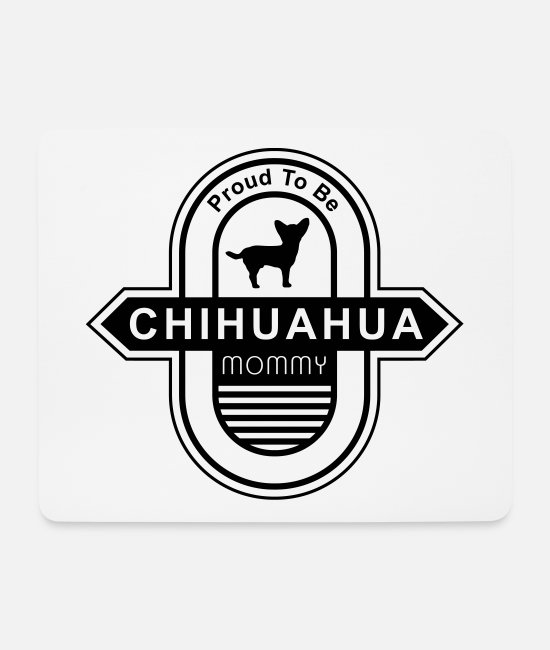 Cool Cool Cool Mouse Pads - Chihuahua Dog Mommy | Dog mom dog owner - Mouse Pad white