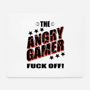 Play Online Angry Gamer, play online, gamble - Mouse Pad