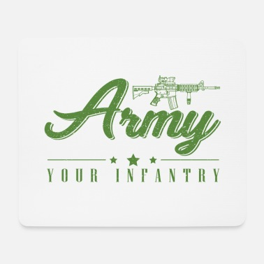 Infantry Army / Bundeswehr / Infantry - Mouse Pad