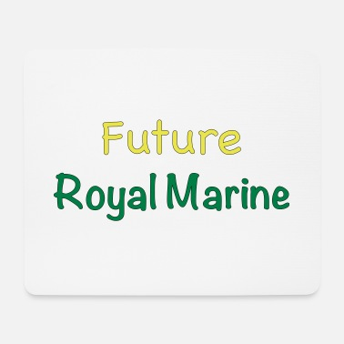 Future Royal Marine - Mouse Pad (horizontal)