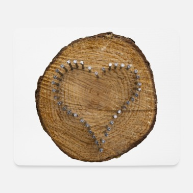Heart - a sign of love - Mouse Pad