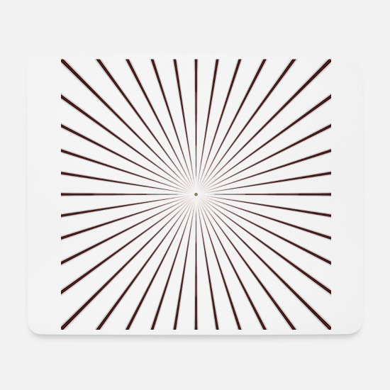 Gift Idea Mouse Pads - Rays Colored GSR - Mouse Pad white