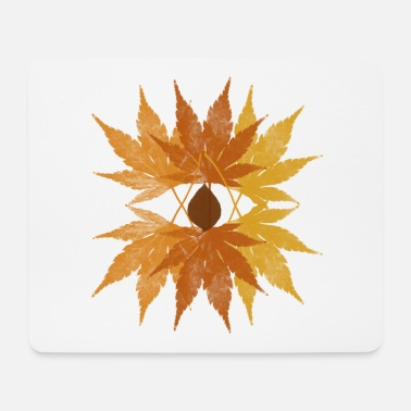 Autumn leaves - Mouse Pad