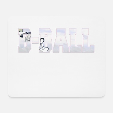 B Ball B BALL basketball - Mouse Pad