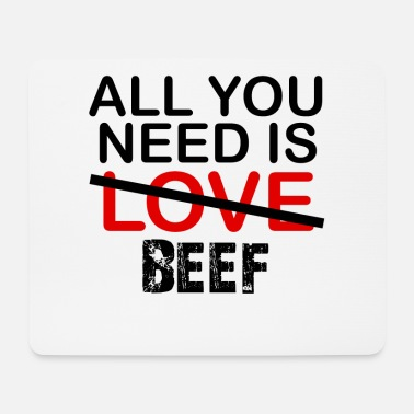 Beef Beef - Mouse Pad